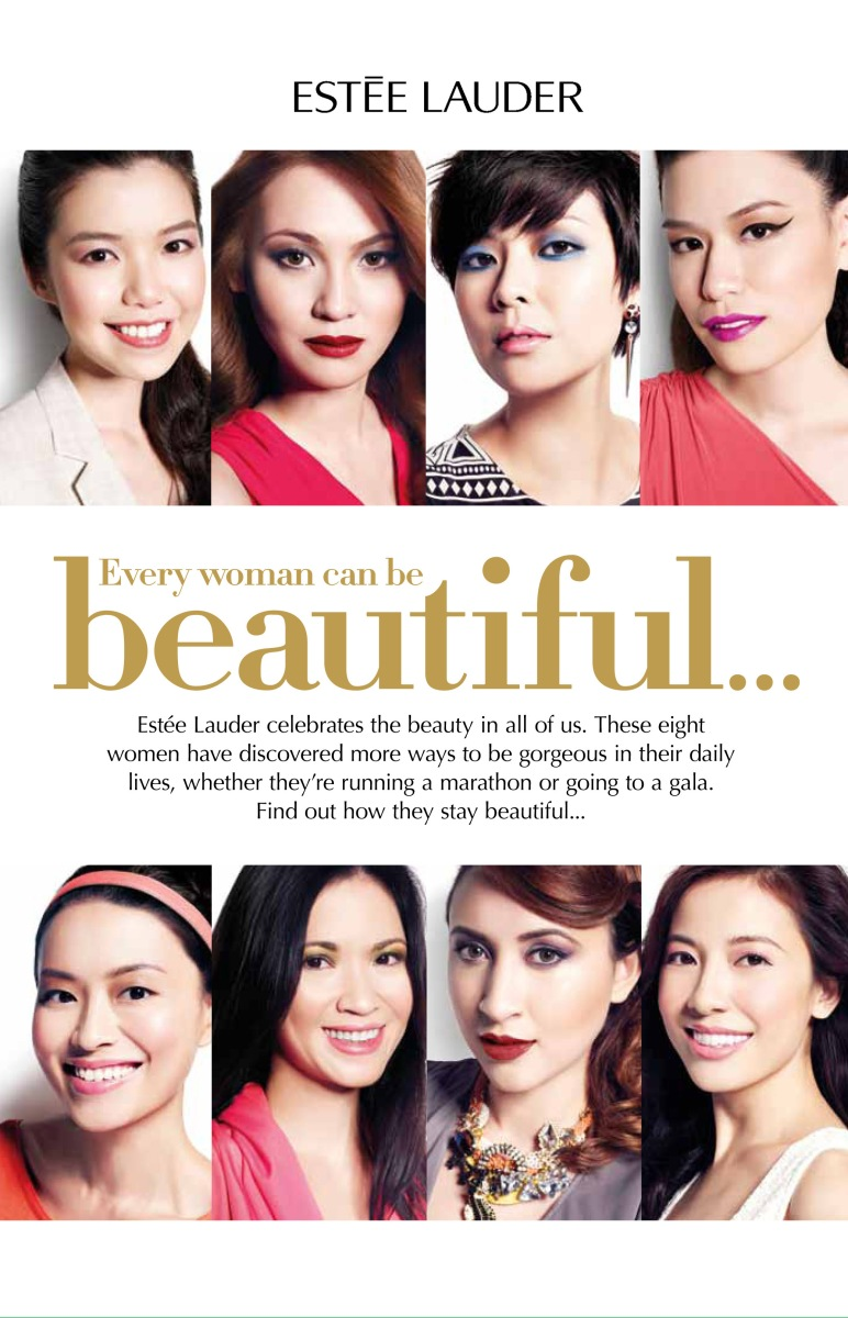 Estee Lauder Every Woman Can Be Beautiful Workshop & Makeover 24-29 July