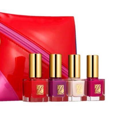 Estee Lauder Christmas 2012 Nails Set