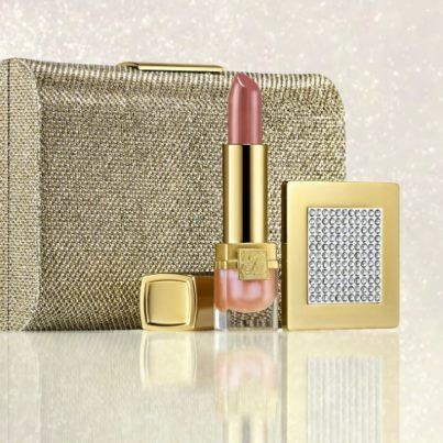 Estee Lauder Christmas 2012 Golden ClutchSet