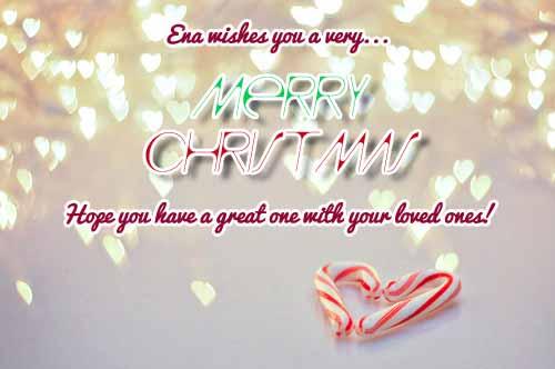 Ena Merry Christmas