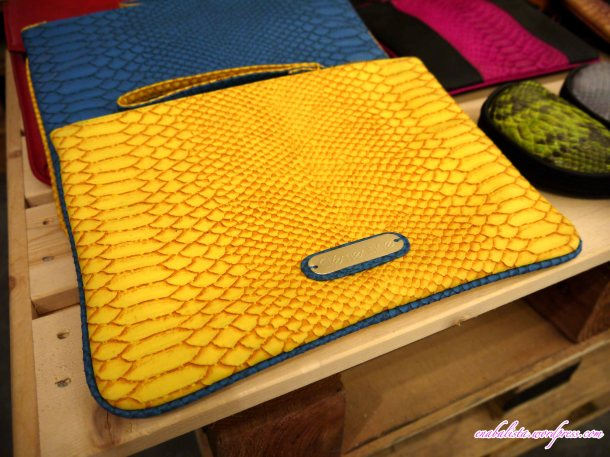 Hmuse Clementine Yellow Clutch Enabalista