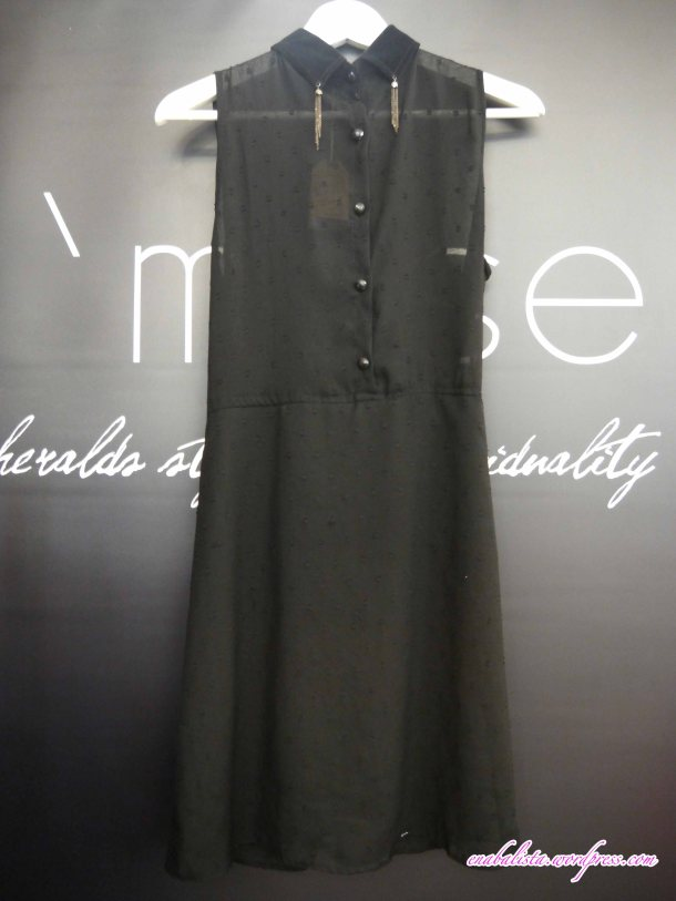 Hmuse Ensemble Black Dress Enabalista