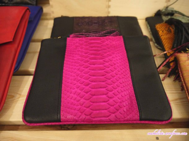 Hmuse Pink Black Clutch Enabalista