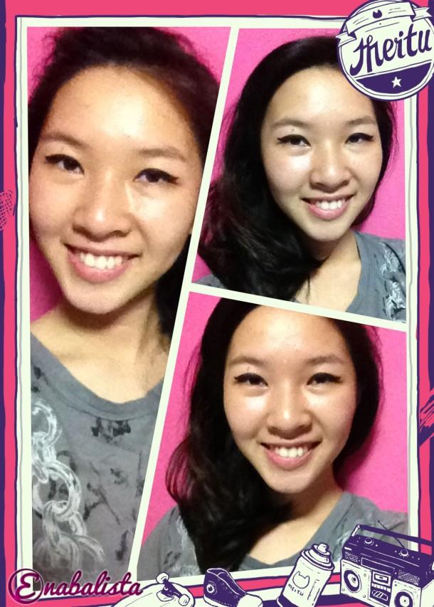 Ena Before Liese Hair Dye 2