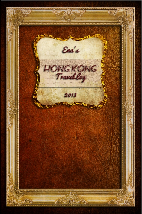 Ena HK Travel Log Cover