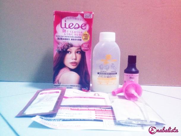 Ena Liese Pink Jewel Pack Items