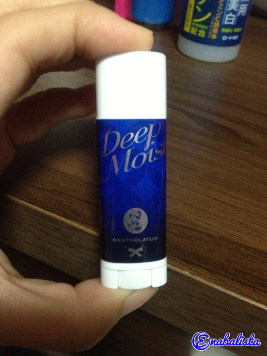 Enabalista Mentholatum Deep Moist Lipbalm 2013 Review