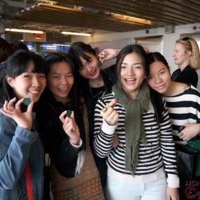 Ena's Hong Kong Day 3 & 4, visiting Lane Crawford and G.O.Dstudio