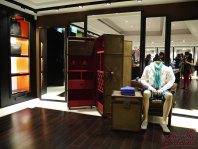 Men's floor, artistic lifestyle visual merchandising