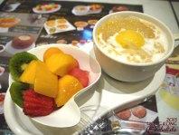 Pomelo mango dessert with Fruit bowl. <3 Yumz <3