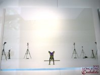 Ming Xi is lookin' flexible