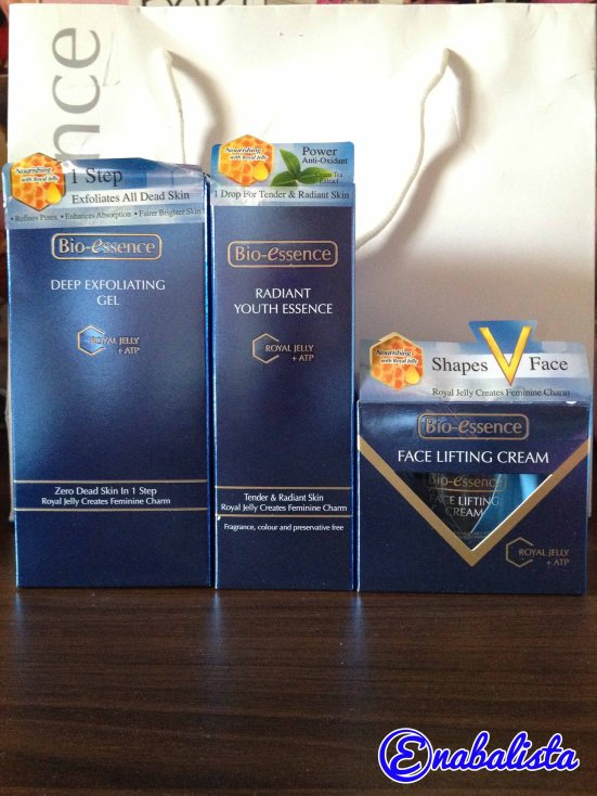 Ena Review Bio essence Royal Jelly + ATP 1