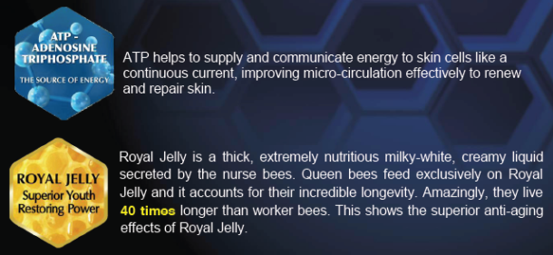 Bio essence Royal Jelly and ATP