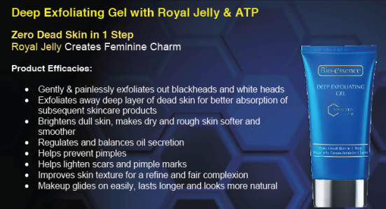 Bio essence Deep Exfoliating Gel with Royal Jelly + ATP