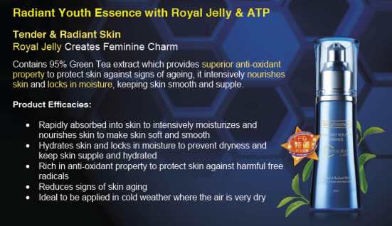 Bio essence Radiant Youth Essence with Royal Jelly + ATP