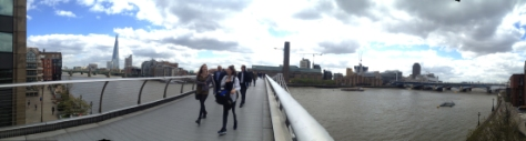 Ena London Millenium Bridge