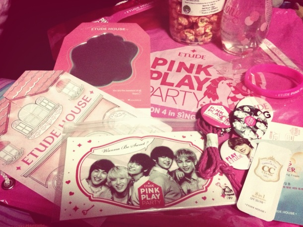 Etude House Pink Play Party