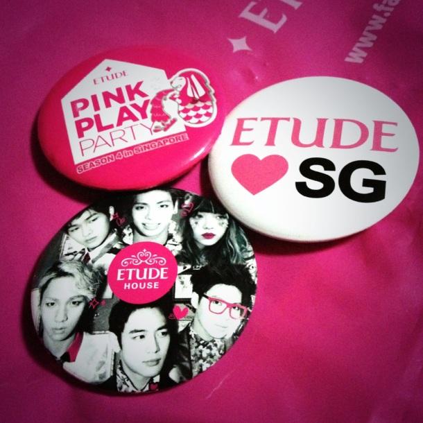 Etude House SHINee Badges