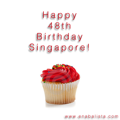 Happy 48th Birthday Singapore
