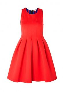 Neoprene Lampshade Dress by MSGM