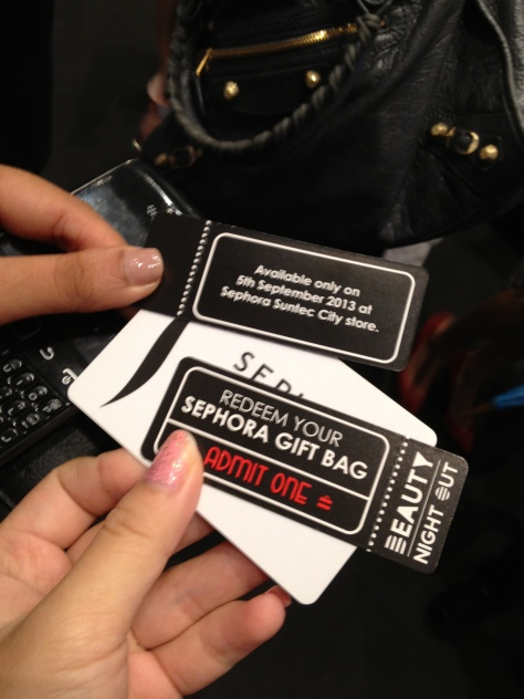 Sephora Suntec City Mall Opening 1