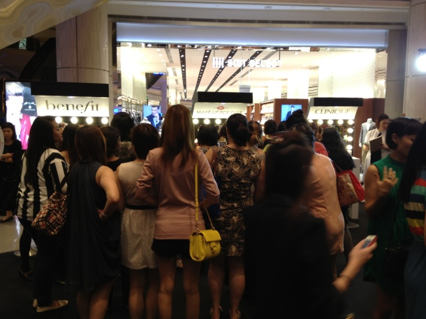 Sephora Suntec City Mall Opening Benefit Clinique