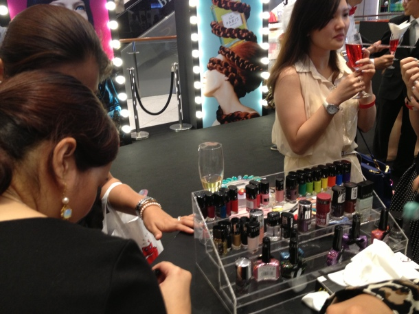Sephora Suntec City Mall Opening Ciate Bar