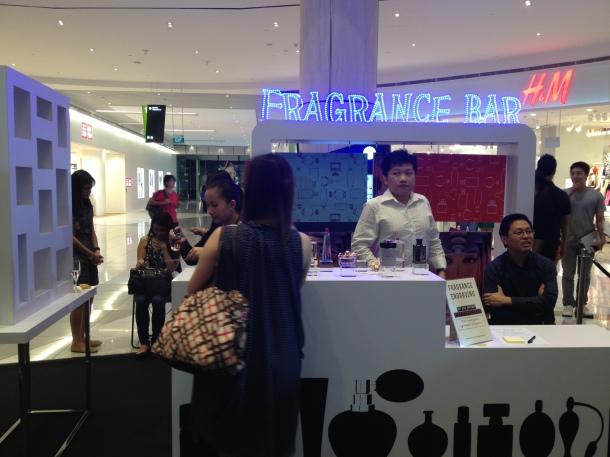 Sephora Suntec City Mall Opening Fragrance Bar