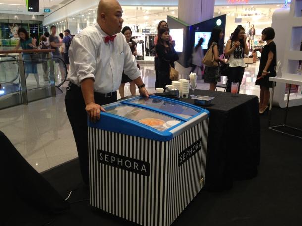 Sephora Suntec City Mall Opening Ice Cream Bar