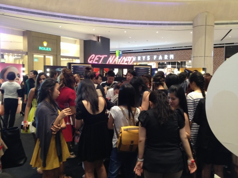 Sephora Suntec City Mall Opening Nail Bar