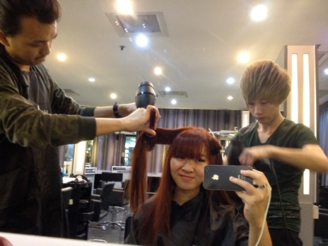 Ena Review Xpect Hair Studio @ Orchard International Building