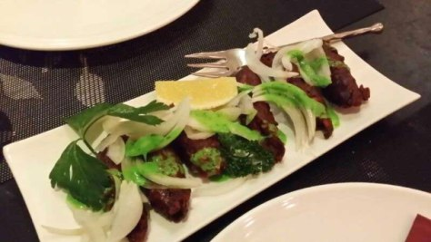 Enabalista Masala Chat Singapore Review Seekh Kebab