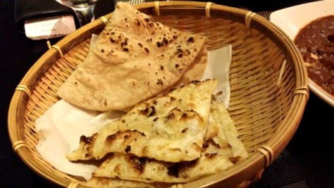 Enabalista Masala Chat Singapore Review Chapatti and Naan