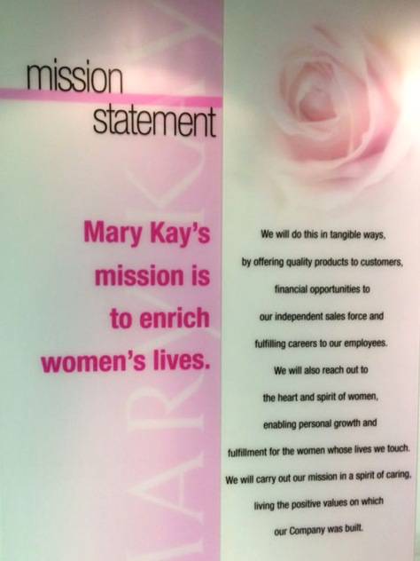 Enabalista Mary Kay Mission Statement