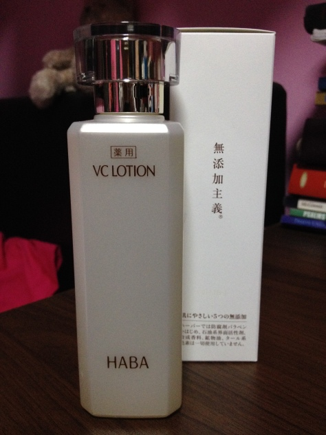 HABA VC Whitening Healing Toner Review