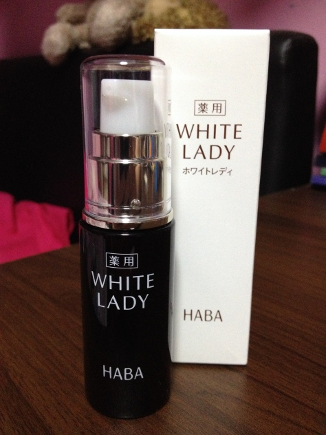 HABA White Lady Whitening Serum Review