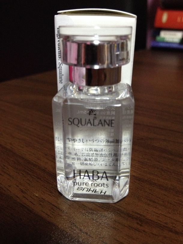 HABA Squalane Beauty Oil Review