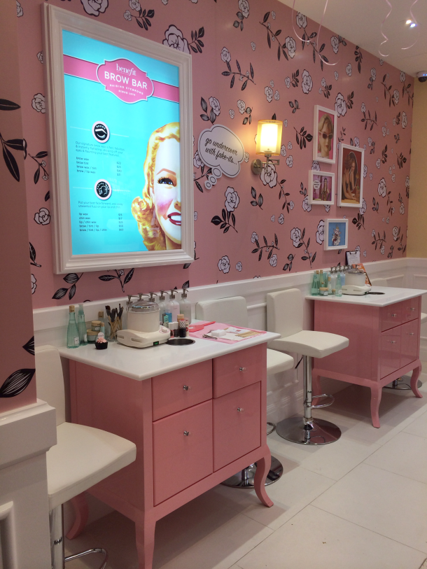 Benefit Westgate Opening Brows Bar Enabalista