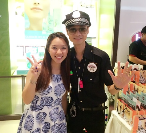 Benefit Westgate Opening Enabalista with Cop