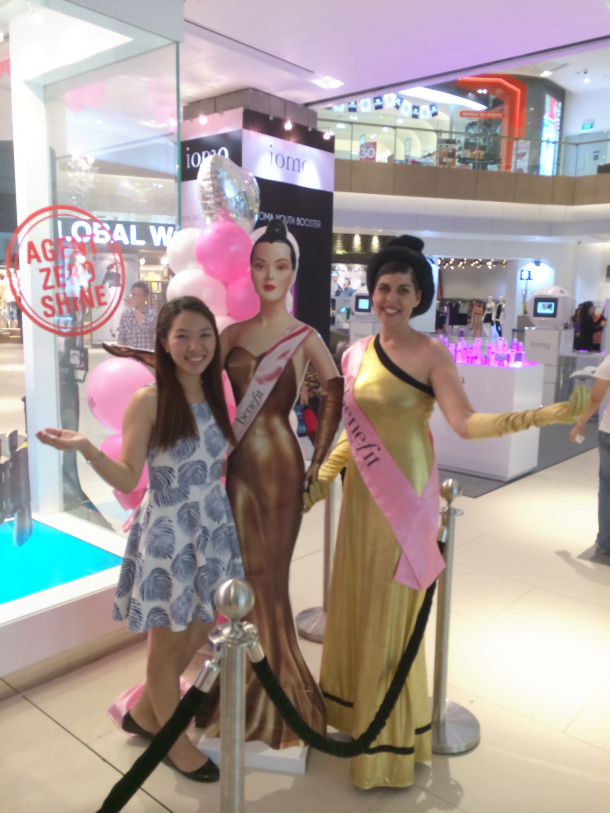 Benefit Westgate Opening Enabalista with Model