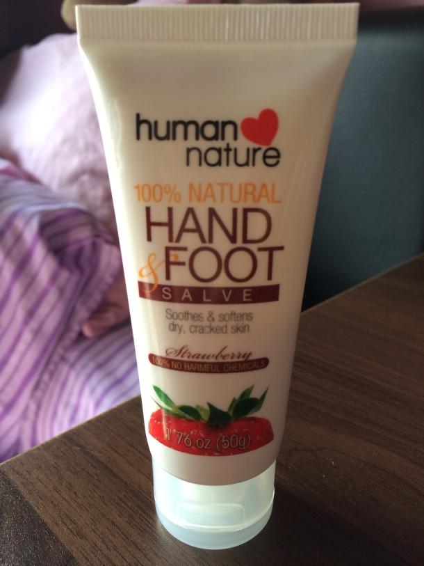 Human Nature 100% Natural Hand and Foot Salve