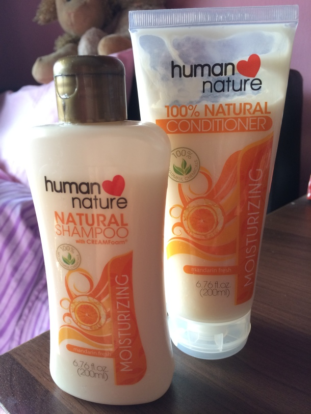 Human Nature Natural Moisturizing Shampoo Conditioner Review