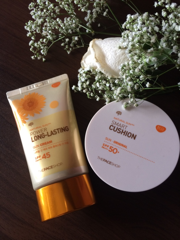 The Face Shop Power Long Lasting Sun Cream Review