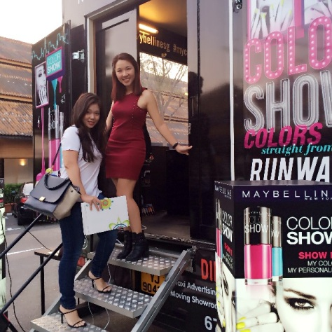Watsons on Wheels Maybelline Truck 2 Blogger Enabalista