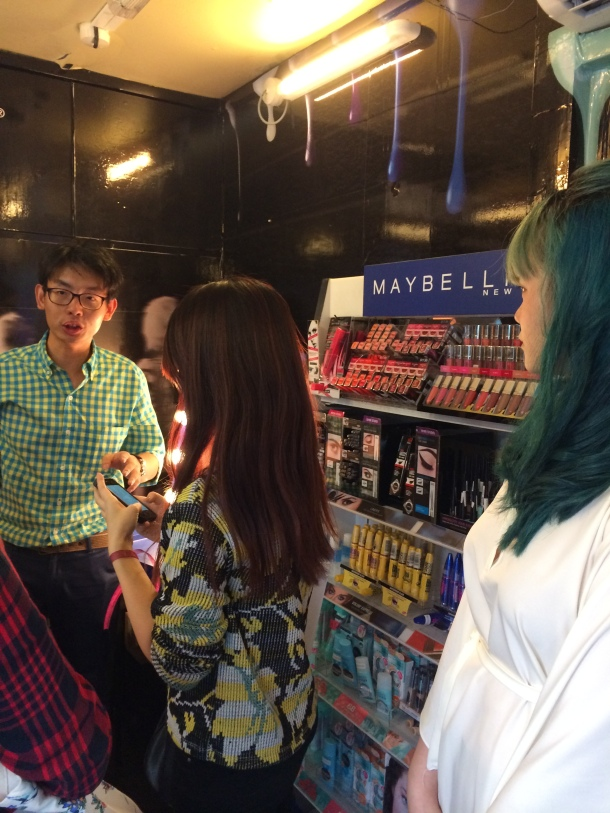 Watsons on Wheels Maybelline Truck Interior Blogger Enabalista