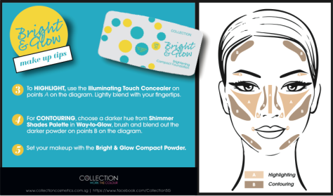 Collection Cosmetics Bright & Glow How To 2