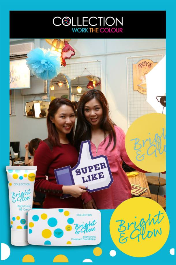 Collection Cosmetics Bright & Glow Photo Booth 2 Enabalista
