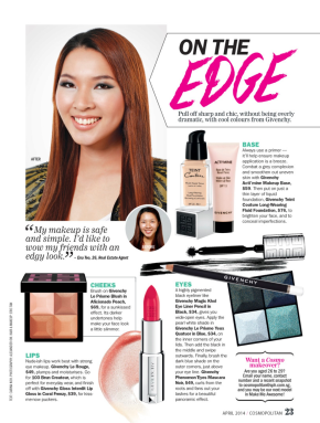 As Featured on Cosmopolitan Magazine April's Make Me Awesome