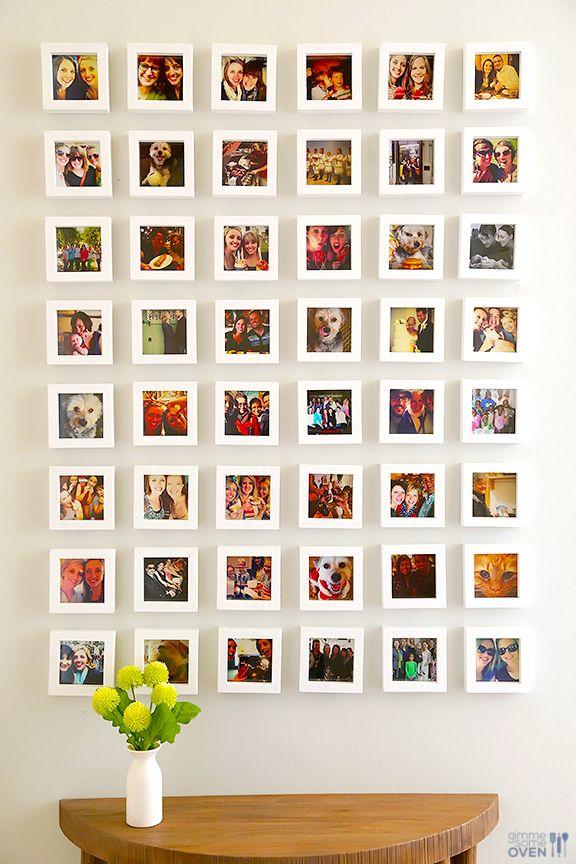 Photo Wall Decor Idea 6