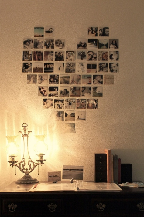Photo Wall Decor Idea 7